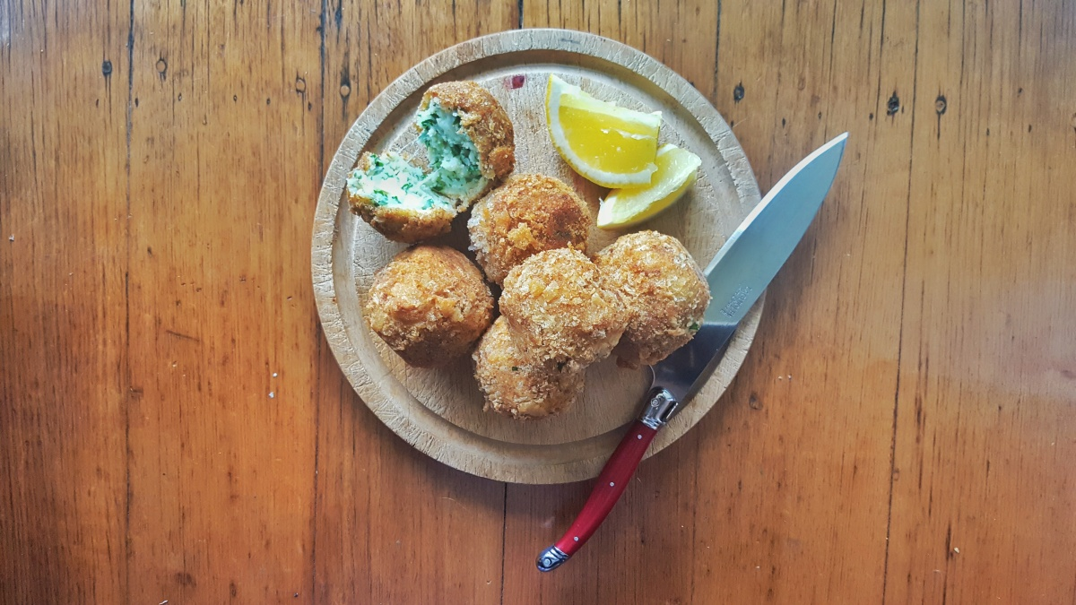 parsley croquettes