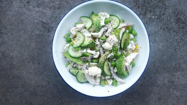 rawcauliflowersalad