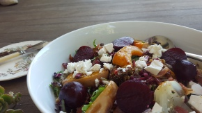 RECIPE: Roast Pumpkin and Beetroot Salad