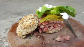 MY THURSDAY SANDWICH: Corned Beef Reubens Roll